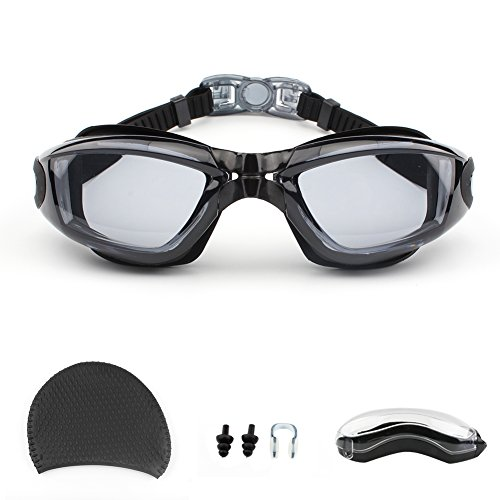 Swimming Goggles,GUQI Swim Goggles for Adult Men Women Youth Kids Child with...