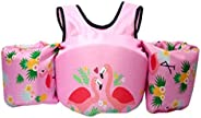 DoMyfit Summer Swimming Float Vest Children Water Sports Baby Children Swim Life Jacket Swim Training Jacket T