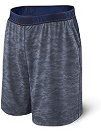 """Saxx Underwear Men's Legend 2N1 10"""" Athletic Shorts with Ballpark Pouch"""