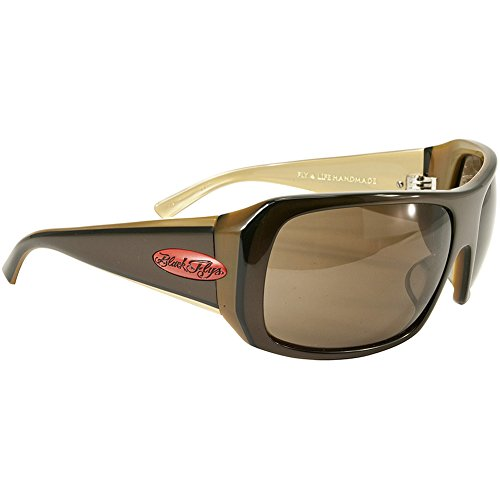 Black Flys Men's Fly 4 Life Sunglasses S.BRN/ - Flies Sunglasses Black