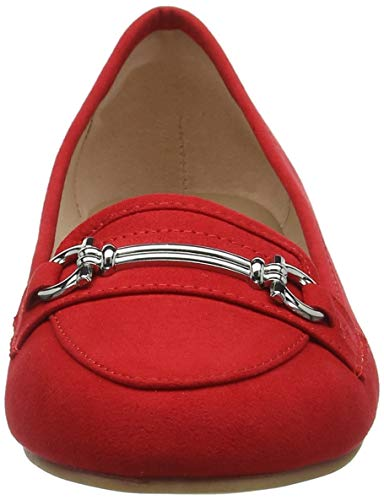 New 60 Tacco Donna Punta Look Chiusa Rosso Scarpe bright Col 5728207 Red BBwqUr