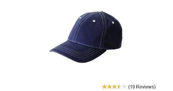 f6177f94f FlexFit Contrast Color Stitched Cap - 6386 (Navy/Stone / L/X) at Amazon  Men's Clothing store: