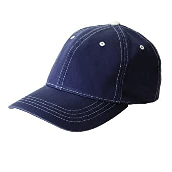 FlexFit Contrast Color Stitched Cap - 6386 (Navy/Stone / L/X)