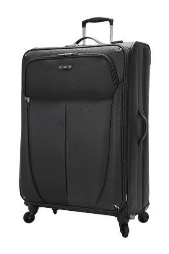 Wheel 4 Expandable Luggage (Skyway Luggage Mirage Superlight 28-Inch 4 Wheel Expandable Upright, Black, One Size)