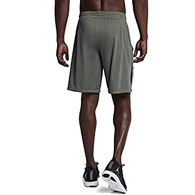 c691c7cd493 Amazon.com : Nike Mens Jordan 23 Alpha Knit Basketball Shorts River Rock/ Black (Small) : Clothing