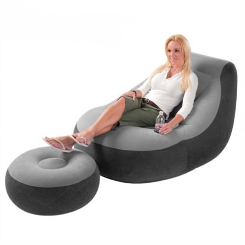 NEW Inflatable Large Gaming Chair Adult Bean Bag Indoor Outdoor Giant Gamer (Giant Inflatable Chair)