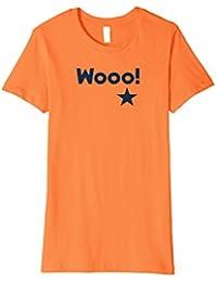 """""""Wooo!"""" Houston Vintage Colors Baseball Tee"""