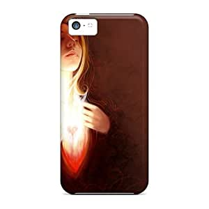 MMZ DIY PHONE CASETpu Case For iphone 6 plus 5.5 inch With Angel Of Love