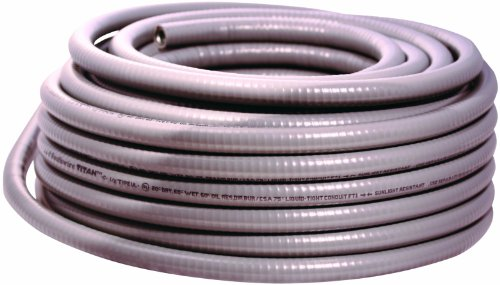 Southwire 55082603 100-Feet Ultratite-Type UL 1/2-Inch Metallic Liquid tight Flexible Conduit by Southwire