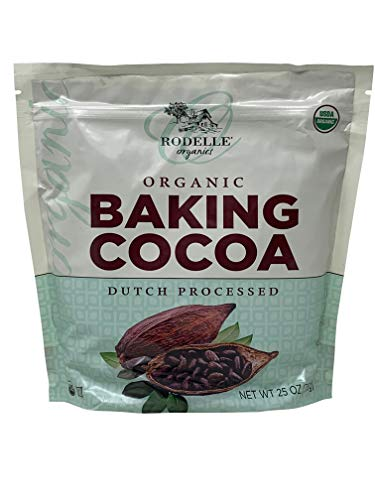 - Rodelle Organic Baking Cocoa Powder Dutch Processed 25 Oz.
