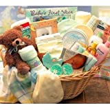 Deluxe Welcome Home Precious Baby Basket - Blue