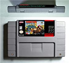 Donkey Country Kong 1 2 3 or Competition Cartridge - ARPG Game Battery Save US Version DonkeyKongCountry 2 - Game Card For Sega Mega Drive For Genesis