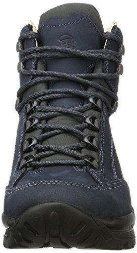 Hanwag Canyon, Zapatos de High Rise Senderismo para Hombre Azul (Marine_navy)