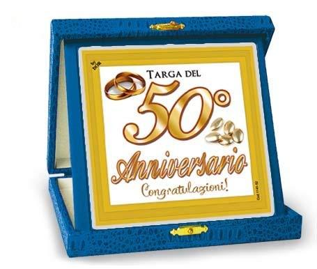 Dream S Party La Targa Targhetta Del 50 Anniversario Idea Regalo