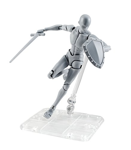 Bandai Tamashii Nations S.H. Figuarts Body-Kun Takarai Rihito Edition DX Set (Gray Color Ver.) Action Figure from Bandai