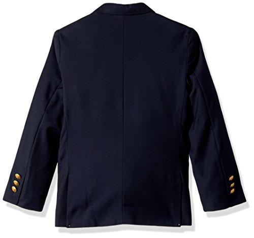 Nautica Boys' Little Navy Blazer, Dark Blue, 7