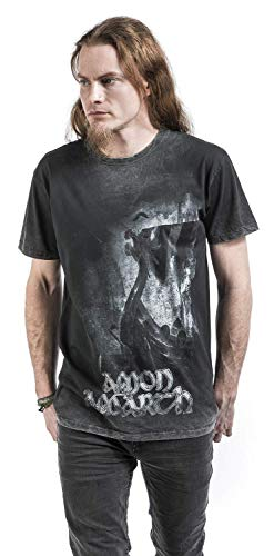 One Burning T shirt Arrows Manches Thousand Courtes Anthracite Amon Amarth 5qxnP5t
