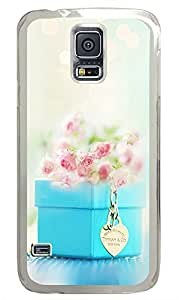 Samsung Galaxy S5 Flower And Accessories PC Custom Samsung Galaxy S5 Case Cover Transparent