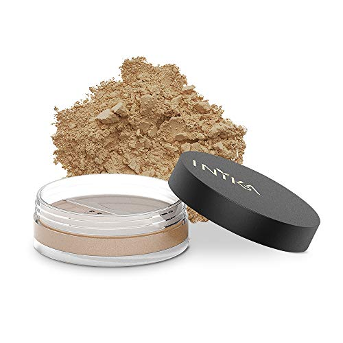 INIKA Loose Mineral Foundation Powder SPF25 All Natural Make-Up Base, Concealer, Flawless Coverage, Water Resistant, Hypoallergenic, Halal, 8g (0.28 oz) (Freedom)