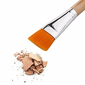 Professional Brush for Facial Mask - Soft Face Makeup - Flat Mask Brushes - Cosmetic Tools and Makeup Foundation Brushes