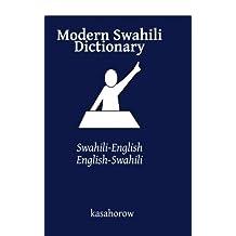Modern Swahili Dictionary: Swahili-English, English-Swahili