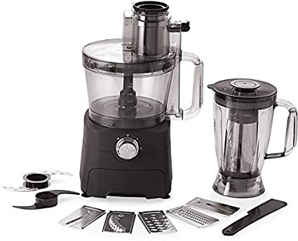 BMS Lifestyle FST-604 750 W Food Processor (Black) Food Processors at amazon