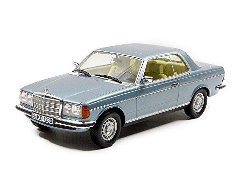 1980 Mercedes-Benz 280 CE [Norev 183588], Silberblau Metallic, 1:18 Die Cast