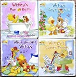 Witzy Board Book 4-Pack (Little Suzy's Zoo)