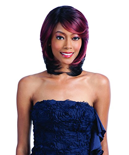 (Shake-N-Go Equal Green Cap Protective Style Wig - 002 (1B - Off Blk))