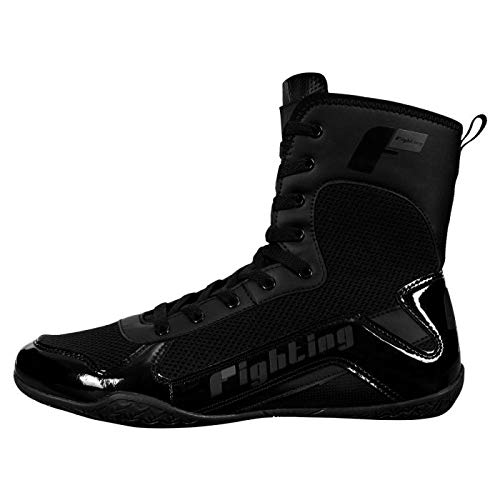 Fighting Superior Boxing Shoes, Black, 5