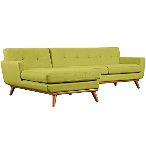 Engage Left-Facing Sectional Sofa in Wheat