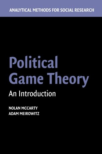 Read Online Political Game Theory: An Introduction pdf epub