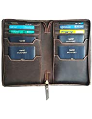 Chalk Factory Genuine Leather Passport Case