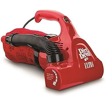 Dirt Devil Hand Vacuum Cleaner Ultra Corded Bagged Handheld Vacuum M08230RED