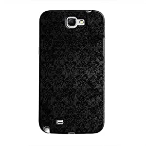 Cover It Up - Dark Classic Wallpaper Galaxy Note 2 N7100 Hard Case