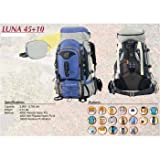High Peak Luna 45+10 Women Camping Rucksak Backpack, Outdoor Stuffs