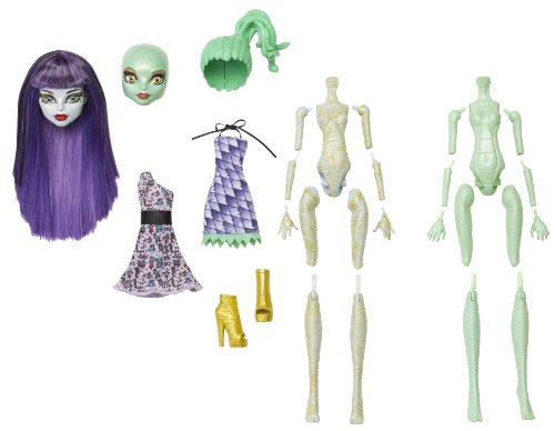 Monster High Custom (Monster High Create-A-Monster Mummy-Gorgon Girl Starter)