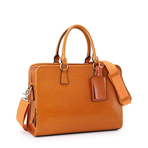 Kattee Genuine Leather Briefcase for Women