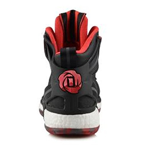 Adidas D Steeg Met 6 Boost J Gs Black / Scarlet / Wit Gs Basketbal (d69766) Zwart
