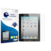 iPad Screen Protector, Tech Armor High Definition HD-Clear Apple iPad 4 / 3 / 2 [NOT IPAD AIR] Film Screen Protector [2-Pack]