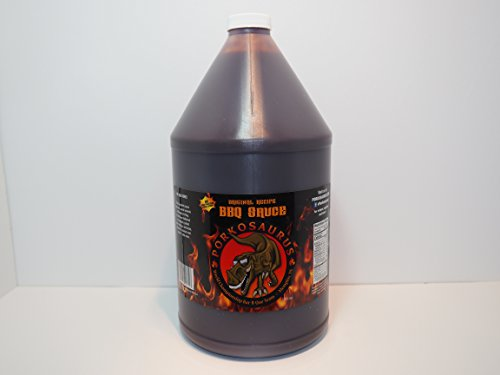 World Champion Porkosaurus BBQ Sauce - No High Fructose Corn Syrup 1 Gallon
