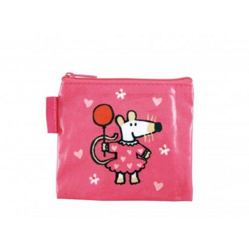 Mausi MM616B - Bolso infantil para pintar, color rosa