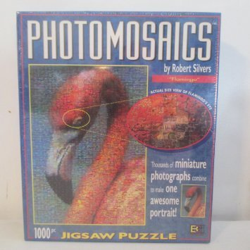 Flamingo Photomosaics Puzzle by Robert Silvers