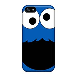 Durable Hard Cell-phone Cases For Iphone 5/5s With Customized Nice Cookie Monster Pattern JasonPelletier