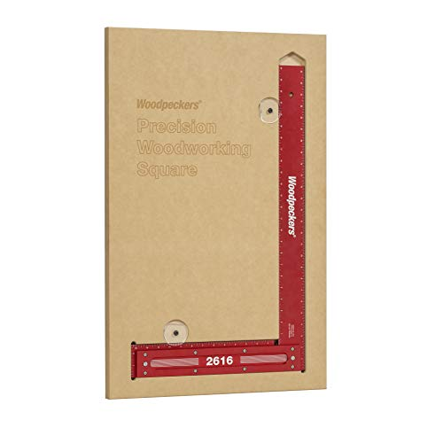 """Precision Woodworking Square 26"""" with Case"""