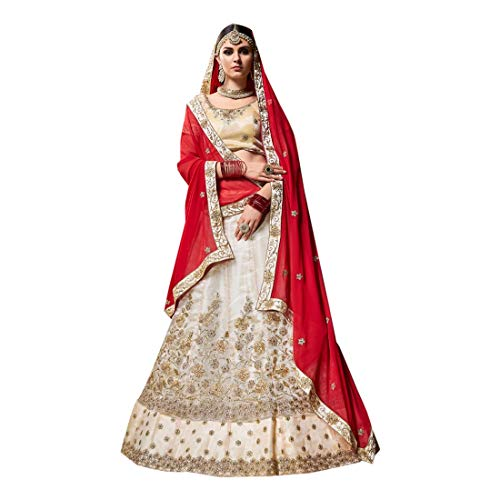 Ethnic Dress Lavoro Donne Bollywood Emporium Dupatta Ricamo Choli Indiano 7208 Festival Velvet Lehenga Musulmane Designer BqBxrR