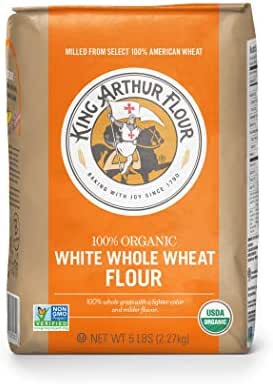 Flours & Meals: King Arthur Organic White Whole Wheat Flour