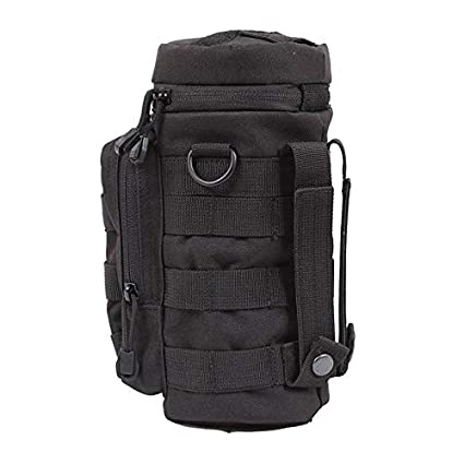 Outdoors Camping Molle Water Bottle Bag Pouch Tactical Gear Kettle Bag