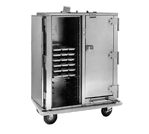 Heavy Duty Correctional Heated Transport Cart for Compartment Trays