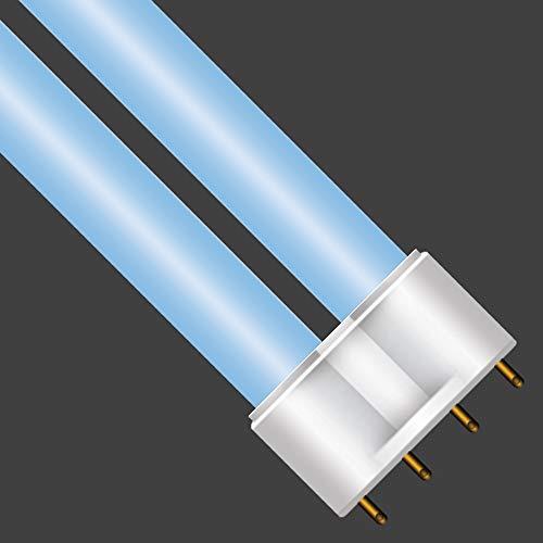 Helios 4PC 12000K Marine Blue(Blue/Blue) 55Watt Plug-in Fluorescent Power Compact Light Bulb Straight 4-Pin ()